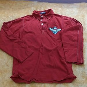 Boys shirt, no tag for size, fits boys med